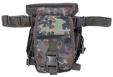 MFH Marsupio militare aggancio gamba sicurezza HIP BAG Security 30701V