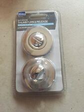 WICKES THUMBTURN & RELEASE- FOR BATHROOM MORTICE LOCK- NO RESERVE