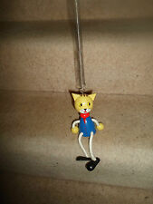 Really Cute Vintage Style Wood and String Mobile Hanging Toy - CHESHIRE CAT