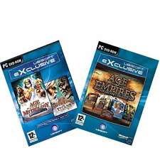 Age of Empires Collectors & Age of Mythology Gold - Exclusive Bundle (PC) New