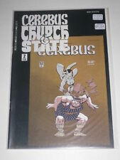 Cerebus Church & State #2 VF Aardvarkvanaheim Feb 1991