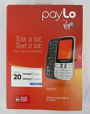 Samsung Montage QWERTY Slider - Paylo Virgin Mobile Cell Phone