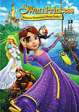 The Swan Princess: Princess Tomorrow Pirate Today DVD Brand New W/ Slipcover