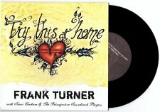 "Frank Turner/Isaac Graham ""Try This at Home"" 7"" OOP Chuck Ragan Austin Lucas"
