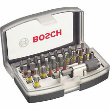 Genuino Bosch Pro 32 Pieza Destornillador Bit Set Co/codificado 2607017319 3165140761734