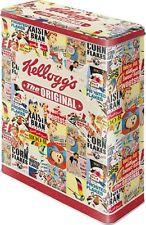 Kellogg 's Céréales collage (6) * Boîte xl vorratsdose plätzchendose * NOUVEAU