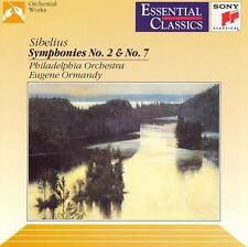 Various Artists Sibelius: Symphonies 2 & 7 CD