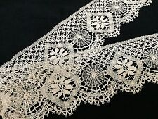 "Vintage Handmade Lace, 3"" X 2 Yards - Lovely! (RF221)"
