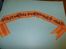 rst039 WW 2 US Army Flag Streamer Pacific Southern Philippines 1945