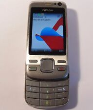Nokia Slide 6600i Slide - Silver Steel (Unlocked) Mobile Phone
