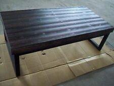 Table en bois-table basse table d'appoint + métal châssis Gutmann Factory pièce unique