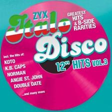 CD Zyx Italo Disco 12 Inch Hits Vol.3 von Various Artists 2CDs