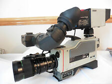 Sony DXC-3000P Camcorder PROFESSIONAL 3CCD BROADCASTING VIDEO CAMERA + FUJI LENS