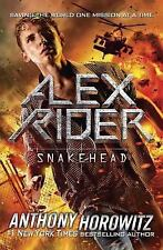 Snakehead (Alex Rider Adventure) by Horowitz, Anthony, Good Book