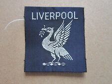 Liverpool Woven Cloth Patch Badge Boy Scouts Scouting