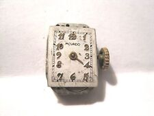 Antique Lds Movado Factories Watch Movement 17 jewels.16 x 11 mm in size.