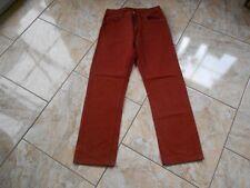H0628 levis 501 jeans w31 color marrón-rojizo-óxido sin patrón