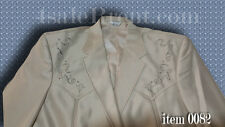 """NEW WESTERN SUIT-CHEST 44""""-46"""" SIZE L. With Embroidered Design.     #82"""