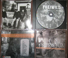 RARE CD - AUFLAGE Razorwire Records Frei.Wild – Mensch Oder Gott oi