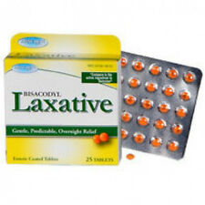 Assured Bisacodyl Laxative Tablets, 25-ct. Packs Generic enteric coated