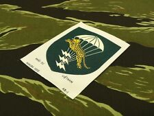 ARVN AIRBORNE LLDB WOVEN PATCH, for ERDL jacket