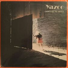 "YAZOO / YAZ - Don't Go - 12"" Single (Vinyl LP) UK import - Mute 12YAZ001"