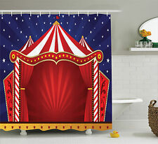 Circus Tent Stage Performing Theater Jokes Clown Cheerful Night Shower Curtain