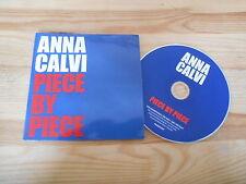 CD Pop Anna Calvi - Piece by Piece (1 Song) Promo DOMINO REC cb