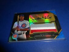 2016 TOPPS TRIPLE THREADS SAPPHIRE ADDISON RUSSELL ROOKIE PATCH AUTO /10