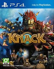 Knack HK Chinese + English subtitle Version English Voice PS4 NEW
