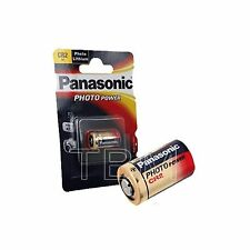 1 x CR2 Panasonic 3V Lithium Photo battery DLCR2 KCR2 CR17355 battery
