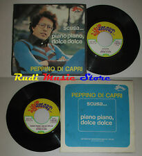 LP 45 7'' PEPPINO DI CAPRI Scusa... Piano dolce 1973 italy SPLASH 1015 cd mc dvd