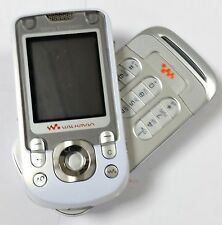 Sony Ericsson Walkman W550I White Unlocked Quadband Gsm Swivel Cellphone