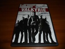 Valkyrie (DVD, 2009) Tom Cruise WWII Hitler based On a True Story Used