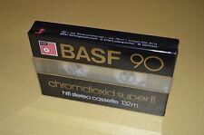 1x BASF 90 Chromdioxid Super II / CR-S II / IEC II / Gold / New Sealed
