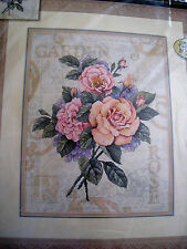 Counted Cross Stitch Dimensions GOLD COLLECTION KIT,ROSE GARDEN CUTTINGS,35143