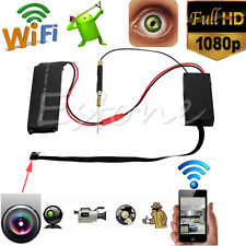 DIY 1080P SPY Hidden Camera 5.0MP Wifi Module Wireless Video DVR IP P2P Recorder