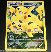 Pikachu RC29/RC32 XY Generations Radiant Collection FULL ART Pokemon Card