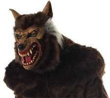 WEREWOLF DELUXE ANGRY MASK VERY REALISTIC SCARY HALLOWEEN