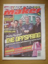 MELODY MAKER 1999 JAN 30 OFFSPRING GARBAGE KENICKIE