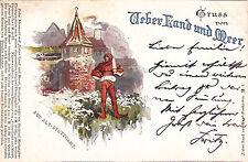 Ak Stuttgart Ueber Land und Meer, Gruss aus Alt Stuttgart um 1897