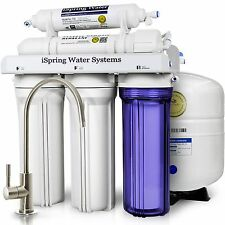 iSpring 5-Stage 75GPD Reverse Osmosis Water Filter System