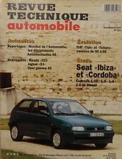 SEAT IBIZA CORDOBA ESSENCE 1.05 1.3 1.4 1.6 DIESEL REVUE TECHNIQUE RTA 567 1994