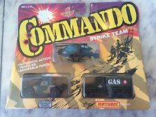 Matchbox Convoy Semi Commando Strike Team Set-military Army 3 Pack
