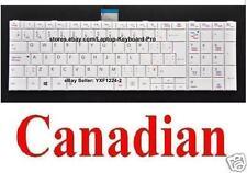 Toshiba Satellite L850 L850D L870 L870D L855 L855D Keyboard - White Canadian CA