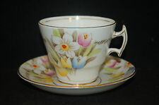 Thomas Forester T F & S Phoenix Bouquet Cup and Saucer