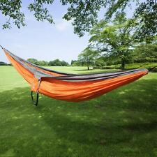Ohuhu Double Two Person Camping Bed Hammock Outdoor Portable Nylon Fabric Swing