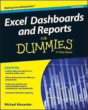 Excel Dashboards and Reports for Dummies by Michael Alexander (2016, Paperback)