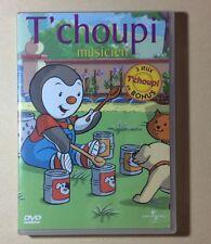 DVD Dessins Animés T'Choupi Musicien