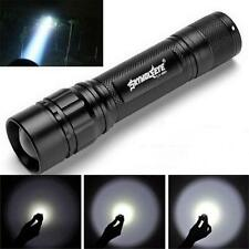 5000Lumen 3Modes CREE XM-L T6 LED 18650 Battery Waterproof Flashlight Focus Lamp